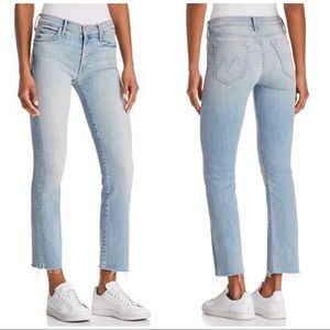 MOTHER  NWOT The Rascal Ankle Snippet Jeans, 28